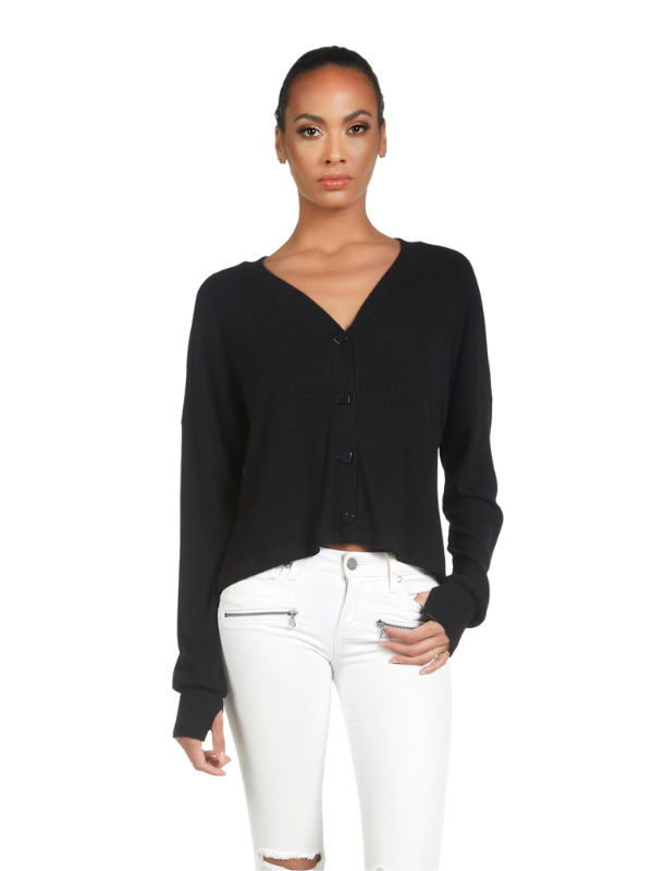 Dustin Crop Cardigan
