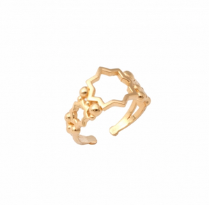 Ayla Ring Gold Plated