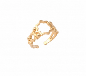 AYLA MIDI RING GOLD PLATED