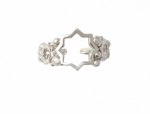 AYLA RING SILVER PLATED