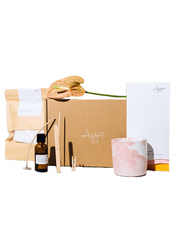Aggre DIY large candle kit