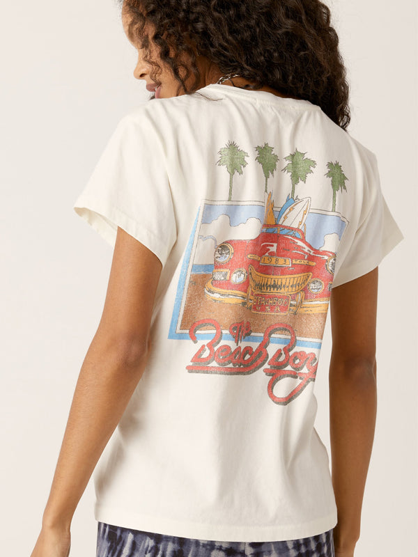 The Beach Boys 1983 Tour Boyfriend Tee