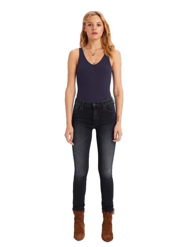 High Waisted Looker Ankle Fray in Last Call