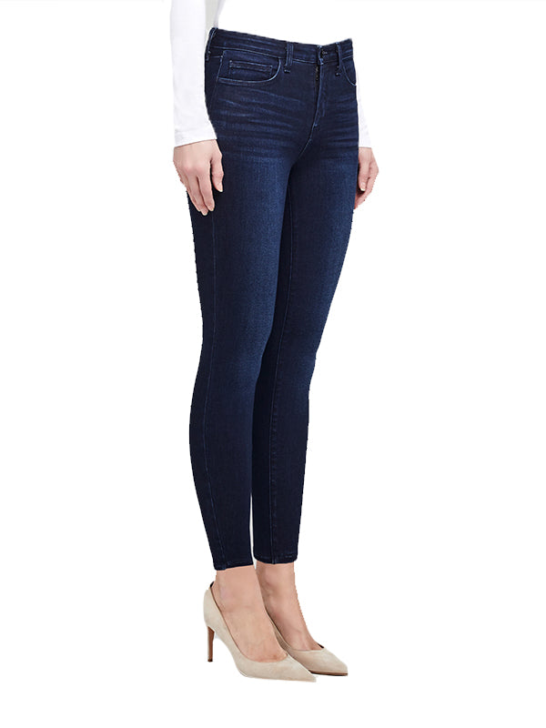Marguerite High Rise Skinny Jean in Marino Blue