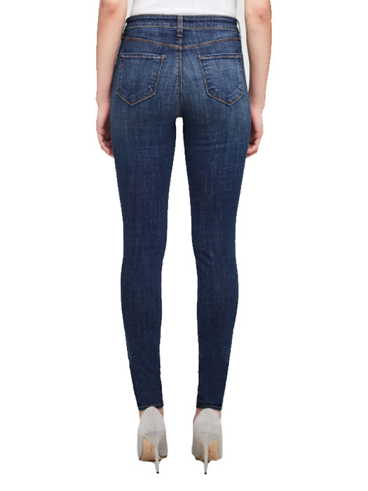 Marguerite High Rise Skinny in Moonseed