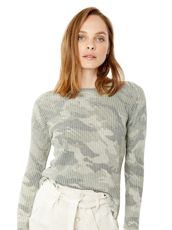 Margot Sweater in Camo