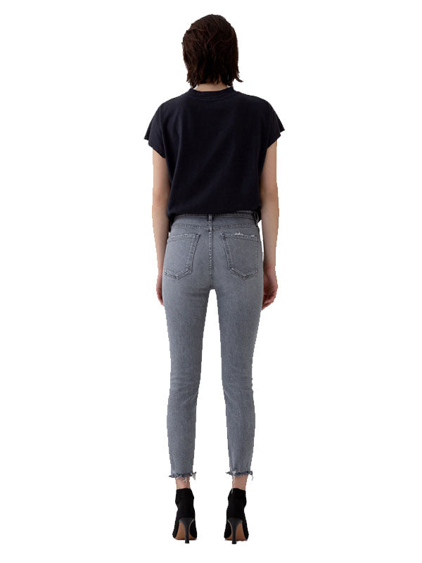 Nico High Rise Slim Fit in Risk