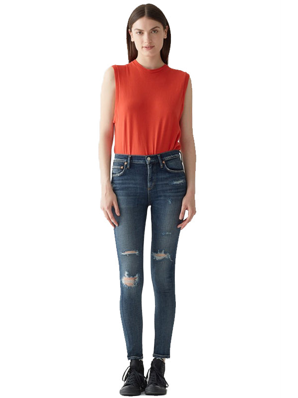 Sophie High Rise Skinny in Sabotage