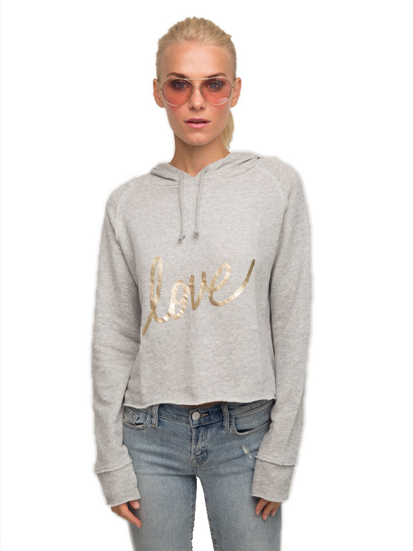 Sabrina Hooded Sweatshirt w/Love