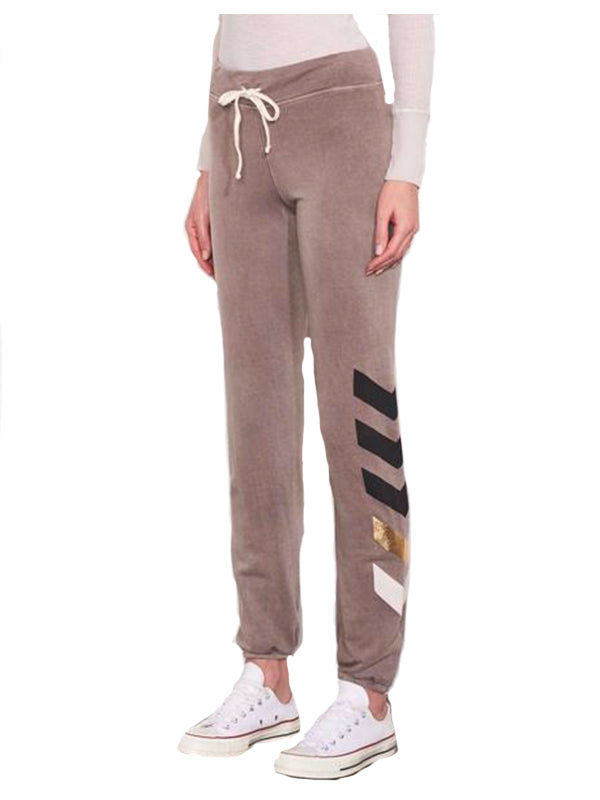Chevrons Sweatpants in Vintage Ash