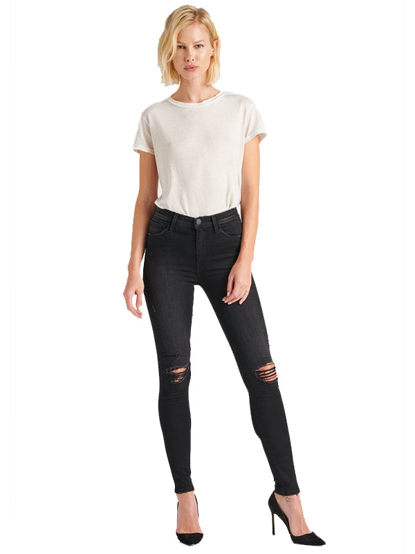Barbara High Waist Super Skinny in Westbound