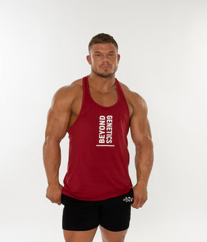 Be Bold Tank Vest - Burgundy
