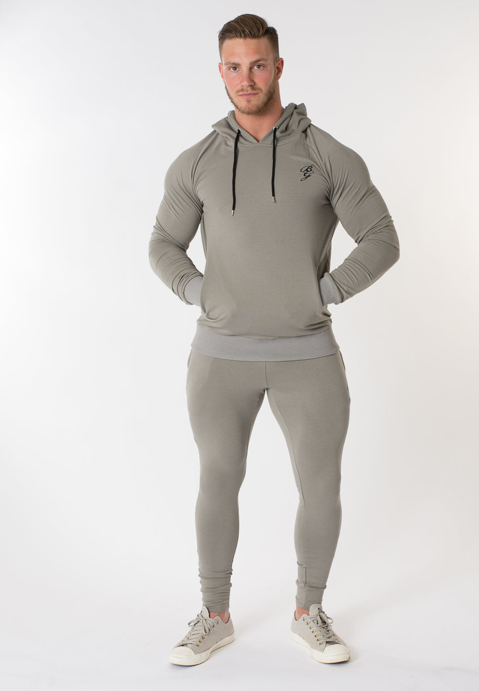 Stealth Pullover Hoody - Grey