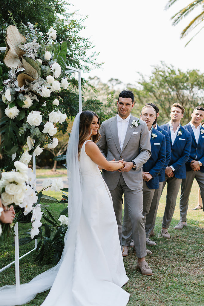 MELISSA & JACK: A HEARTFELT SUMMER GARDEN WEDDING IN THE ROMANTIC BYRON BAY HINTERLAND