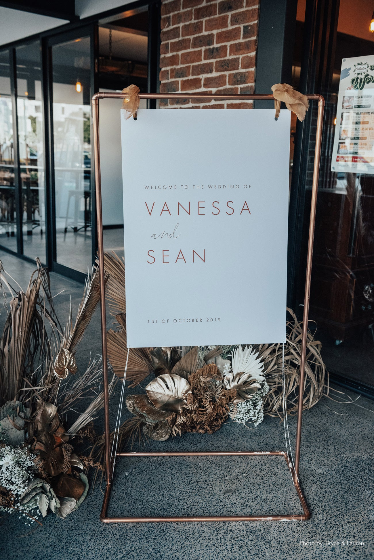 Vanessa + Sean Real Wedding For Love and Living Gold Coast Wedding Stylist