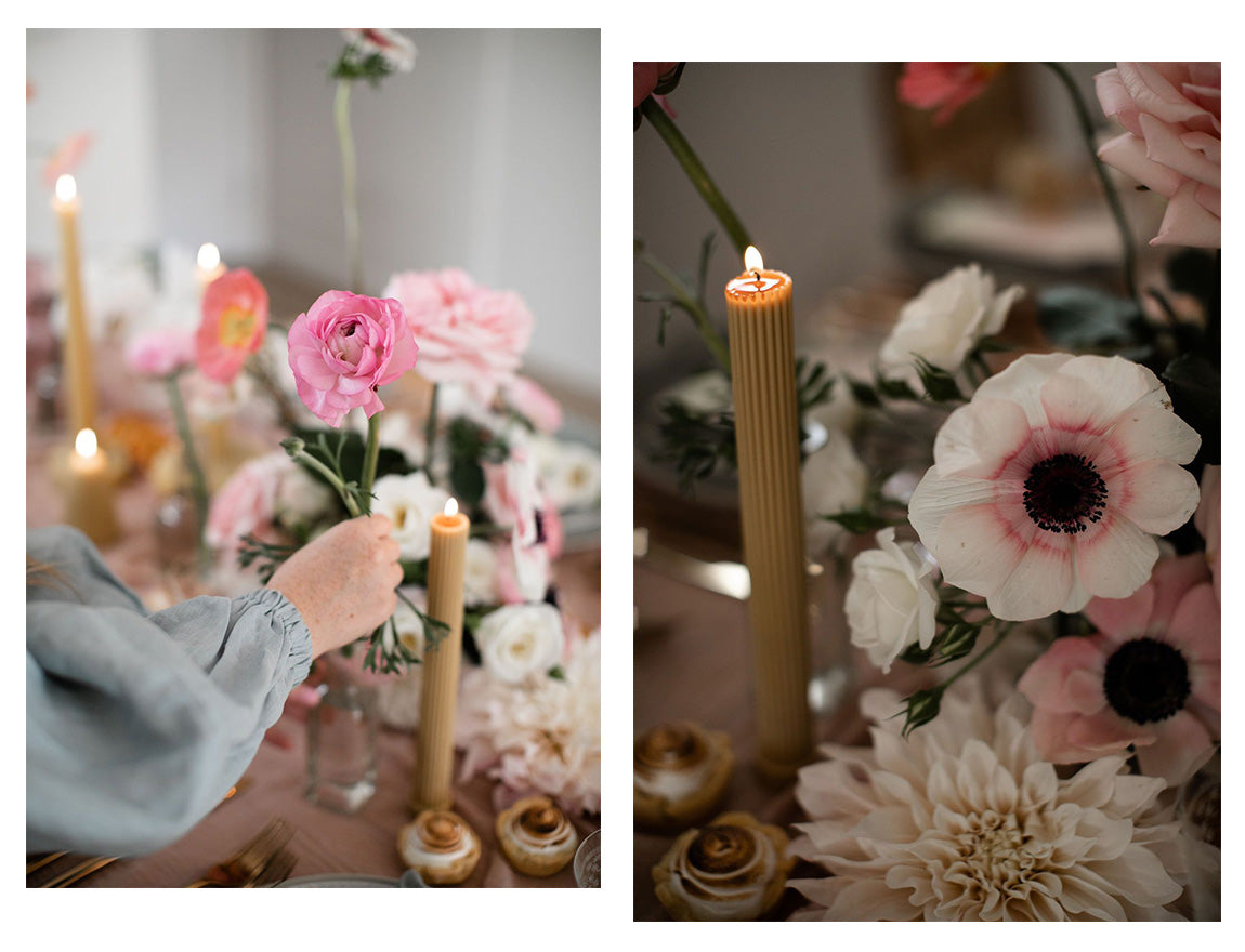 Florals to elevate your table styling this festive season For Love and Living