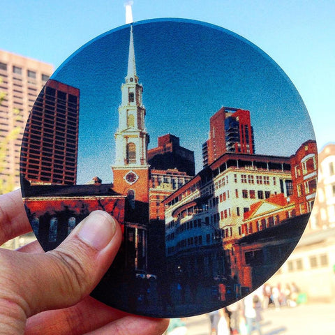 Boston Common Coastermatic Coasters