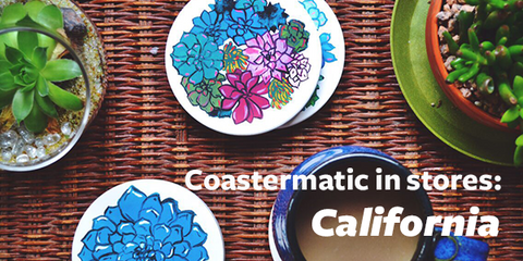 Coastermatic stockists in California 2015