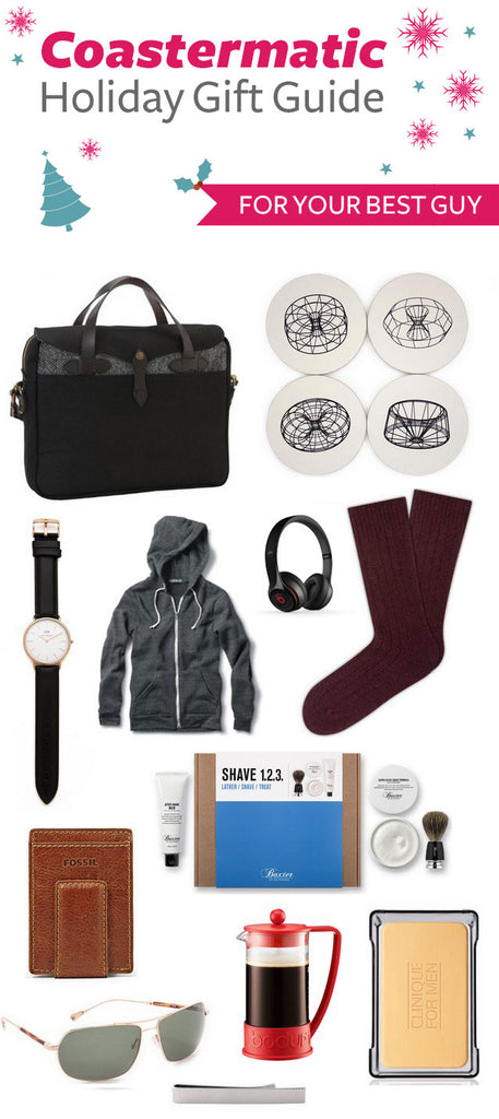 holiday gift guide for the best guy