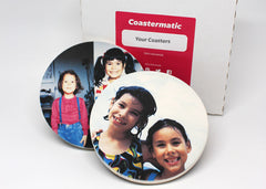 Custom Photo Coasters children