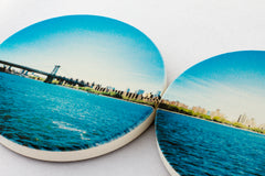 How to make my Instagrams into coasters of the New York City skyline