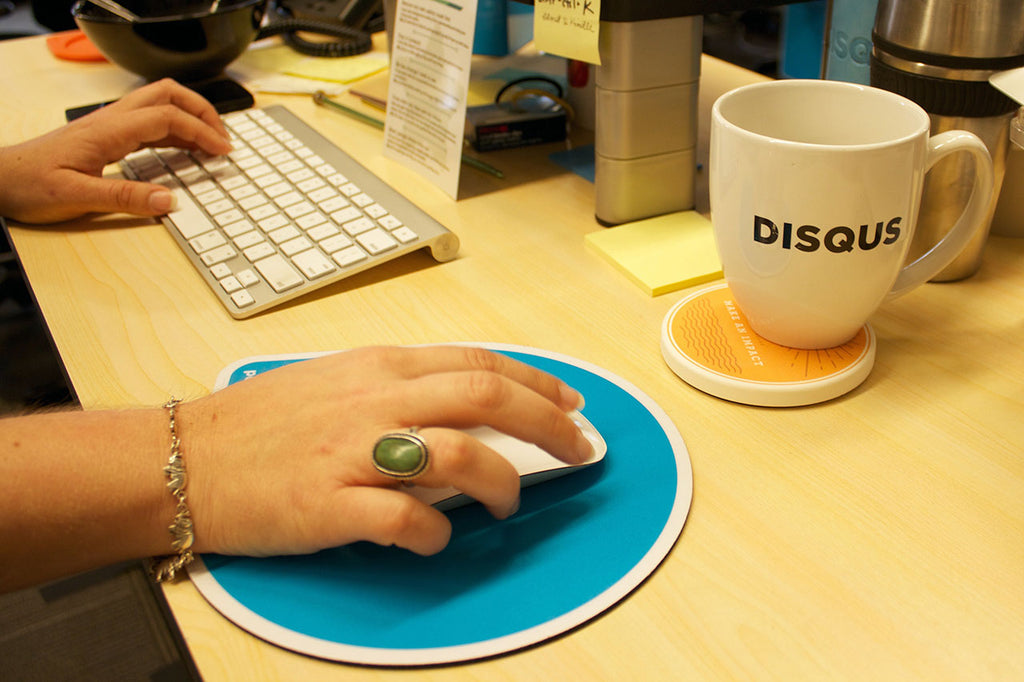 Disqus Coastermatic Core Values coasters