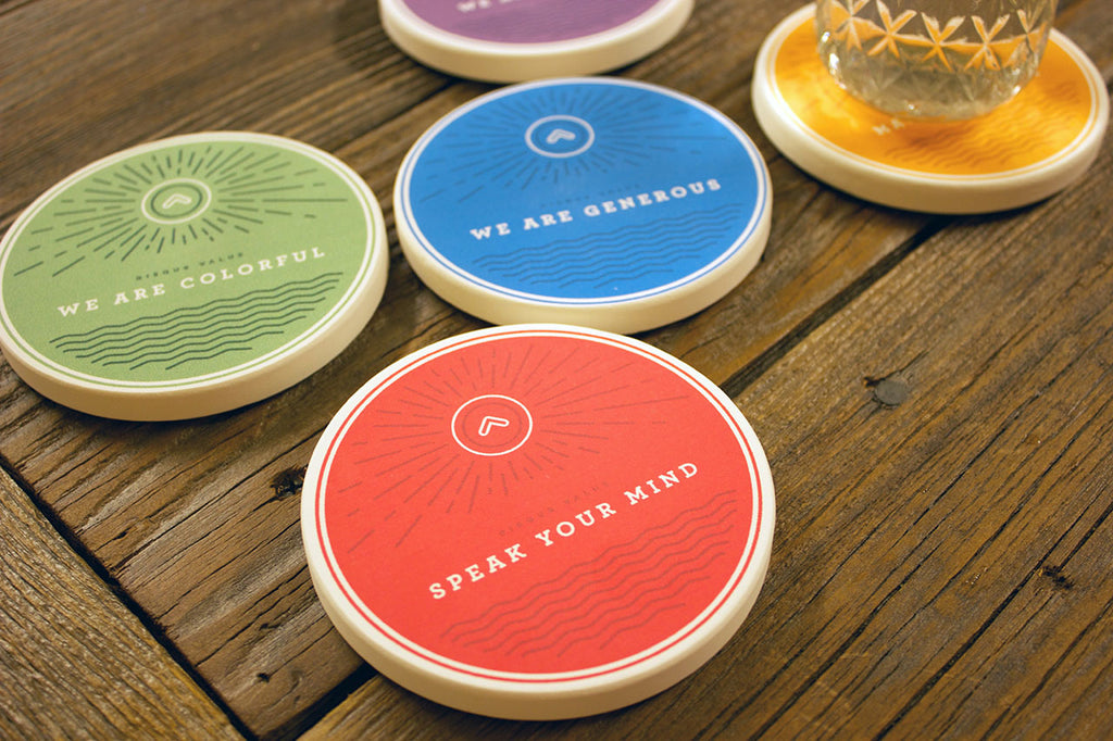 Disqus Coastermatic core value coasters