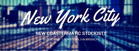 Coastermatic stockists in NYC