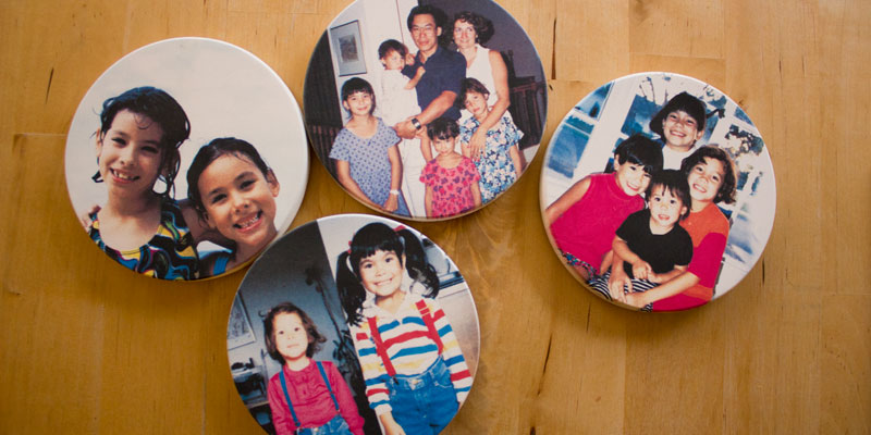 Family Instagram Coasters