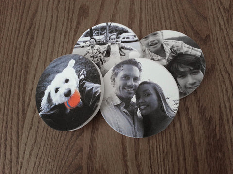 Family Photo Coasters