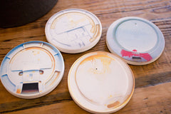 Coffee Lids Coasters