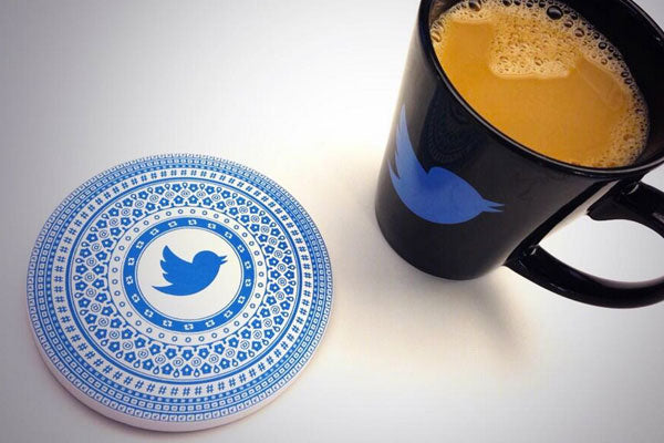 Twitter Design Coasters