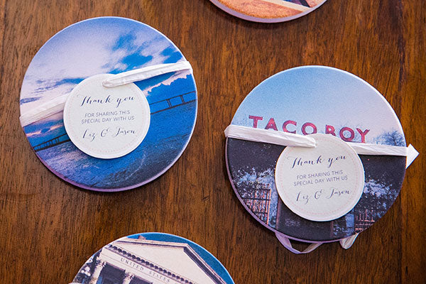 Coastermatic Custom Wedding Favors