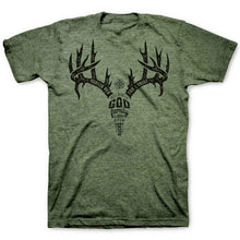 Load image into Gallery viewer, Marked Men for Christ -  Adult T - Antler Text