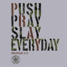 Load image into Gallery viewer, Marked Men for Christ -  Adult T - Push Pray Slay