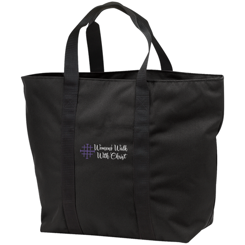 Women's Walk With Christ All Purpose Tote Bag