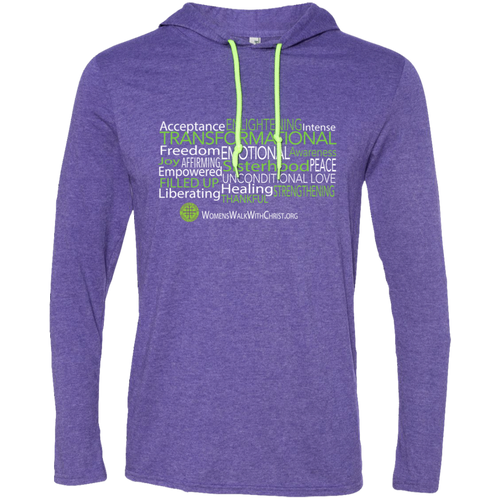 Women's Walk With Christ The Message Hoodie T-Shirt