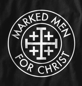 Marked Men for Christ - Adult Long Sleeve T - Spartan Helmet