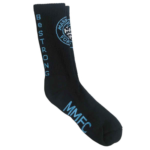 Marked Men for Christ -  Be Strong Logo Socks