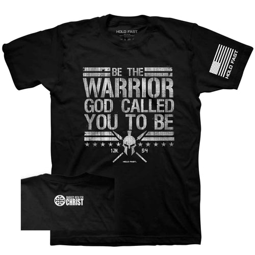Marked Men for Christ -  Adult T - HOLD FAST Warrior