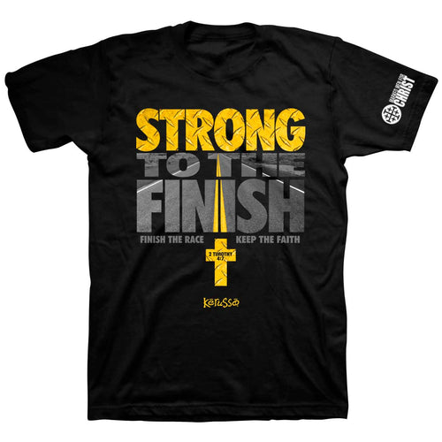Marked Men for Christ - Adult T - Strong To The Finish