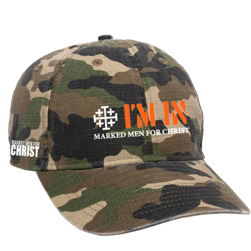 Marked Men for Christ -  I'm In 2020 Cap - Camo