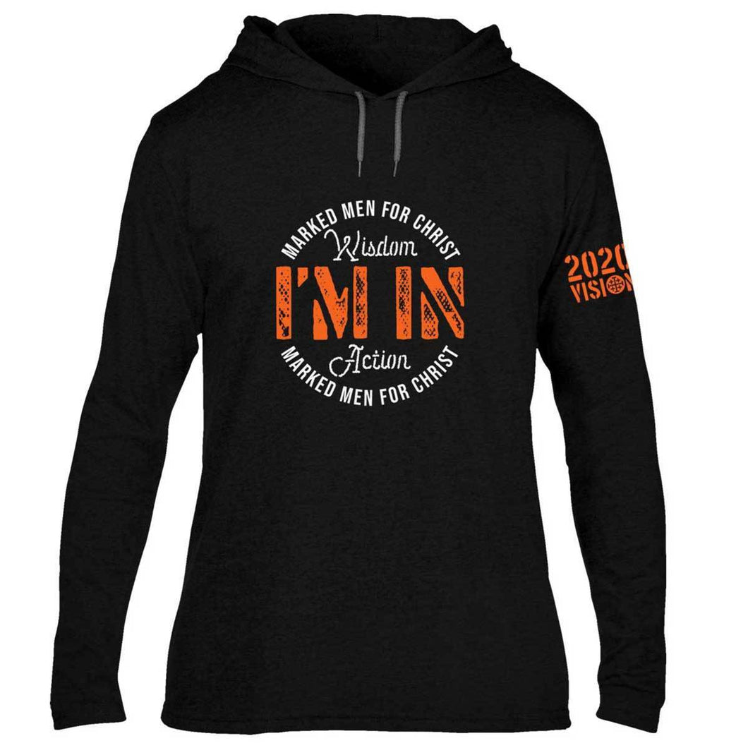 Marked Men For Christ - Adult Hooded T - I'm In 2020