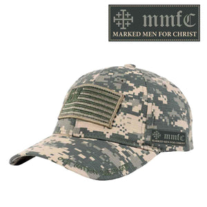 Marked Men for Christ -  Military Flag Cap