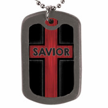 Load image into Gallery viewer, Savior Dog Tag Necklace