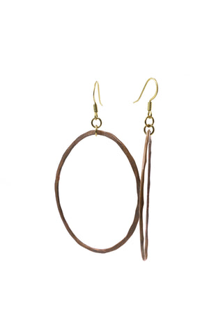 Copper Earrings - Filosophy