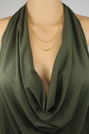 Green Gemstone Necklaces - Filosophy