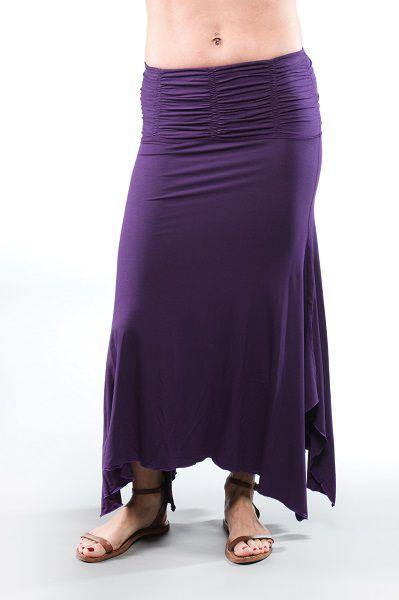 The Convertible Skirt / Dress is a versatile style giving you the flexibility to wear different ways depending on your mood or style. The stretchy, wide, gathered waistband or tube top area looks flattering and is comfortable for all sizes. The flowy A-line silhouette leads to the u-shaped hem. This light, flowy skirt/ dress is perfect for a wide array of occasions from being a beach cover up to going out dress/ skirt.