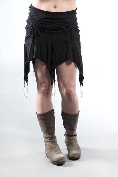 Short Gypsy Skirt - Black