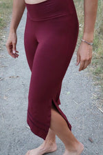Shiva Pants - Burgundy